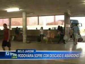 Descaso no Terminal de Belo Jardim vira matéria