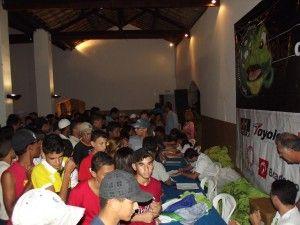 Diretoria, pais e alunos comemoram sucesso da Escolinha do Calango