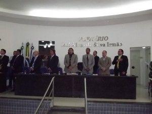 Vereadores voltam do recesso com festa de inauguração dos gabinetes
