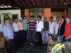 Mendonça Filho recebe lideranças da região e visita amigos em Belo Jardim