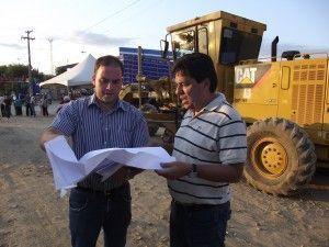 Evento marca inicio das obras nos acessos de Belo Jardim