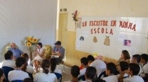 """Escolas Maria Galvão e João Monteiro recebem projeto """"Um Escritor na Minha Escola"""""""