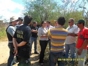 Polícia Federal tenta cumprir mandato de reintegração de posse na Fazenda do Ouro
