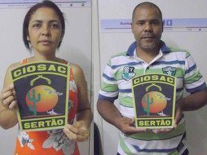 Polícia captura casal procurado por vários homicídios