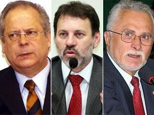 Dirceu, Genoino e Delúbio serão transferidos para regime semiaberto