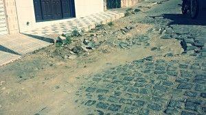 Sujeira e buracos incomodam moradores do São Pedro
