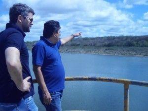 Obra da barragem será lançada hoje no Palácio