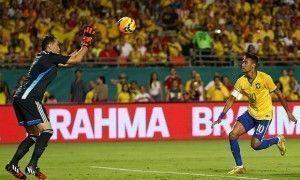 Brasil vence Colômbia por 1×0 no primeiro amistoso depois da Copa
