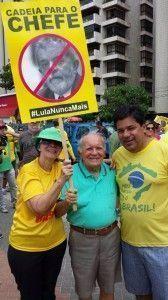 Líder do DEM, Mendonça Filho, diz que multidão nas ruas diz um não ao acordão político e a operação segura Dilma