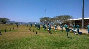 Belo Jardim FC realizou penúltimo treino antes da partida contra o Petrolina, fora de casa.