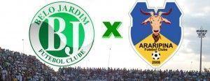Belo Jardim FC recebe o Araripina, neste domingo (11) no Mendonção em Belo Jardim.