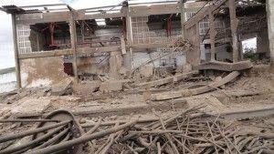 Um ano e sete meses desde a explosão do matadouro público de Belo jardim e nada foi feito