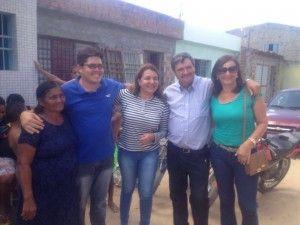 Dia agitado para Andréa Mendonça  em Belo Jardim.