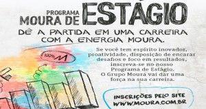 Grupo Moura abre seleção para estágio