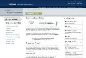 Prouni abre inscrições nesta terça com 8.265 vagas para Pernambuco
