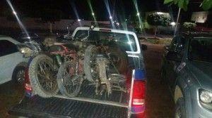 Desmanche de motos é encontrado na zona rural de São Bento do Una