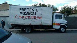 Caminhão de frete é furtado em Belo Jardim