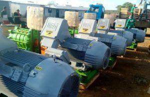 Compesa recebe os 15  conjuntos motor-bomba que colocarão em funcionamento a Adutora do Moxotó