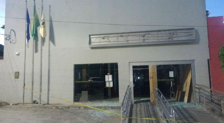 Mais uma agência bancária é explodida por bandidos no interior de PE