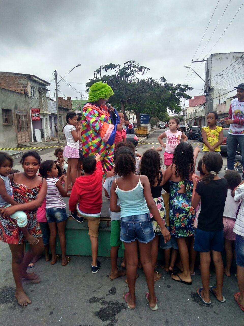 Primeiro Natal Solidário reúne 100 crianças em Belo Jardim