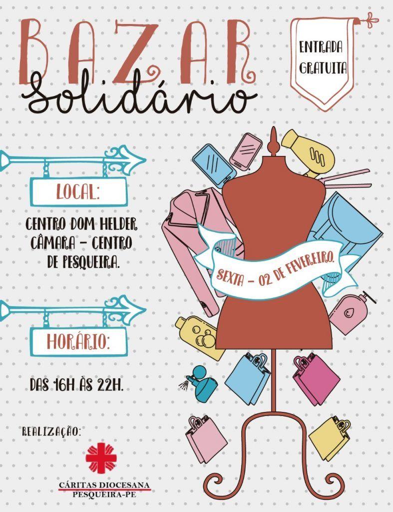 cf2c1fb9bba Cáritas Diocesana realiza Bazar Solidário com peças doadas pela ...