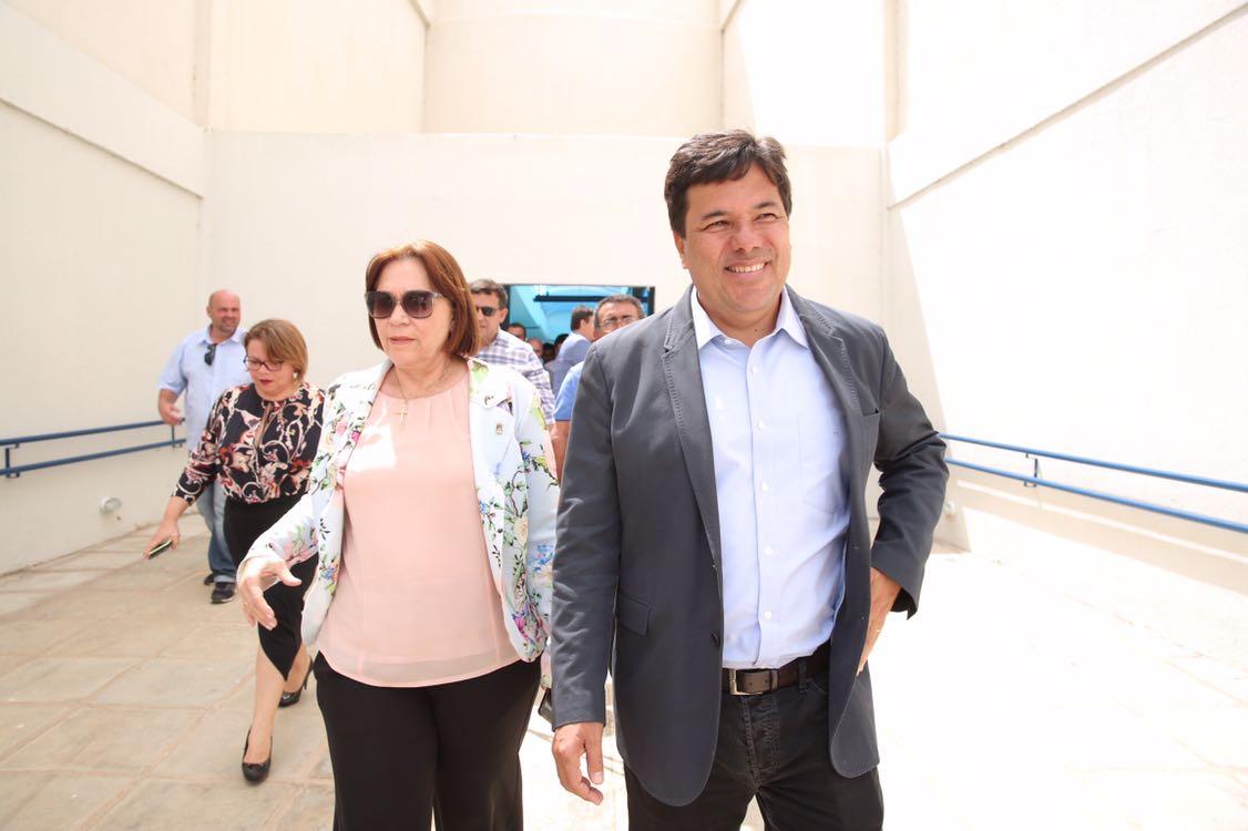Ministro e  reitora da UFRPE-  Maria José de Sena - Foto : André Nery /MEC