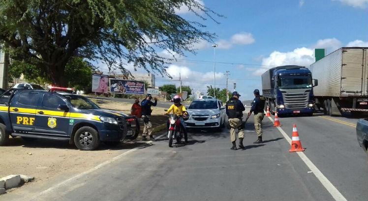 O balanço foi divulgado nesta terça-feira (2) pela Polícia Rodoviária Federal (PRF). Foto: Divulgação/PRF