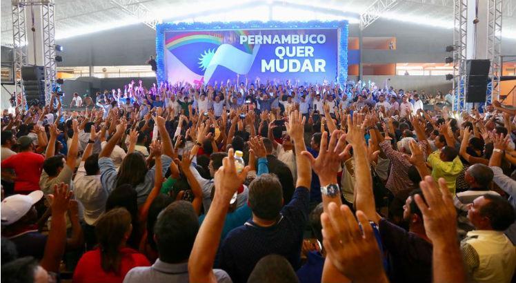 O próximo ato do Pernambuco Quer Mudar já está marcado para o dia 7 de abril em Ipojuca, data que marca o fim da janela partidária. (Foto: Divulgação).