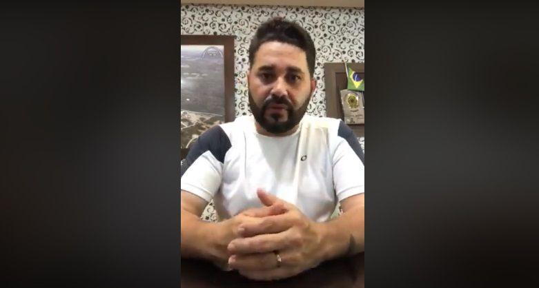 Abatido, prefeito de BJ se contradiz em vídeo e não esclarece áudios sobre o governo