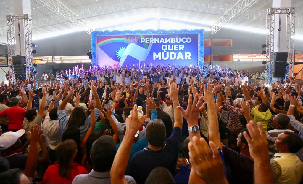 """No Agreste, """"PE Quer Mudar"""" confirma candidatura única e arrasta 5 mil pessoas"""