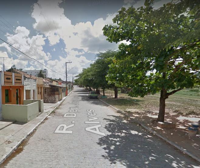 O caso aconteceu na rua da Palha. Foto: Reprodução / Google Maps