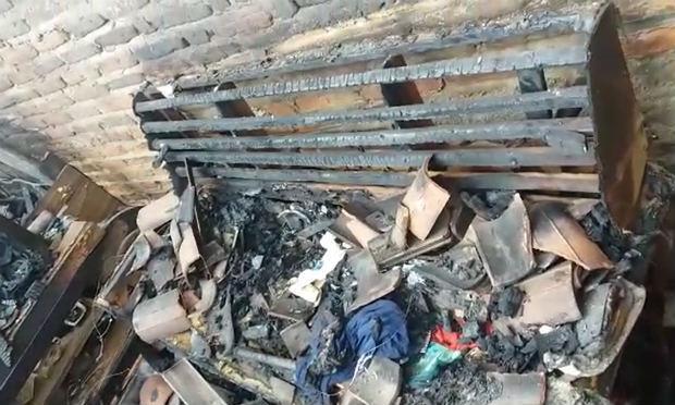 Criança de um ano morre queimada após casa pegar fogo em Brejo da Madre de Deus