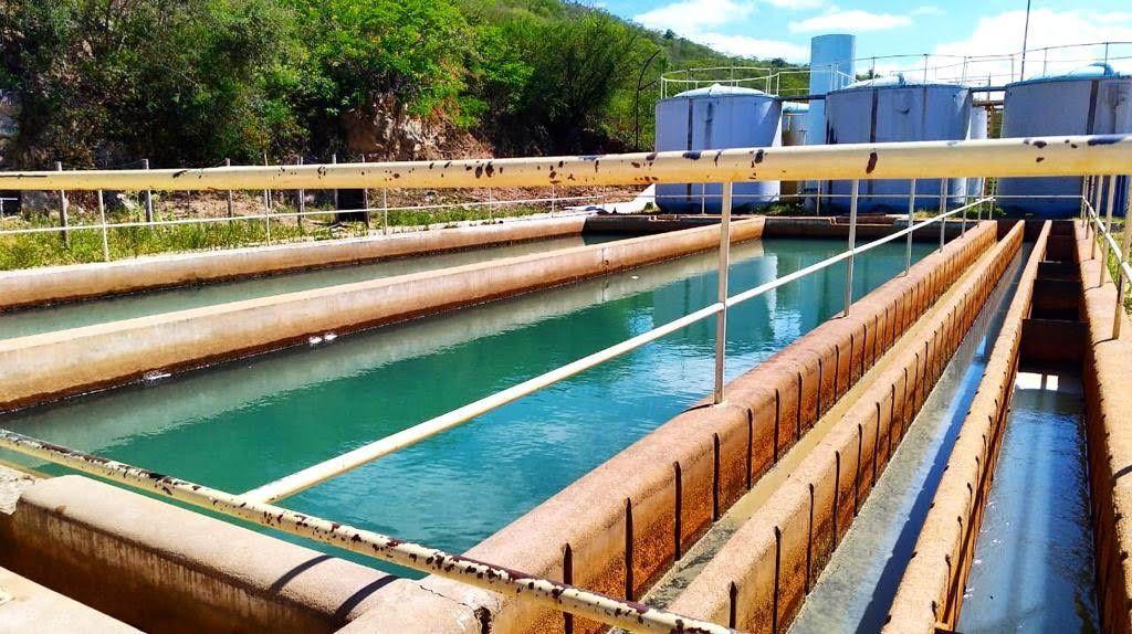Estação de Tratamento de Água de Pesqueira. Divulgação / Compesa