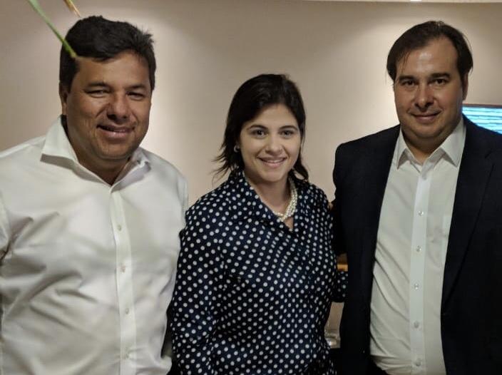 'Maia será uma fonte de equilíbrio para o Brasil na hora das mudanças', disse Mendonça