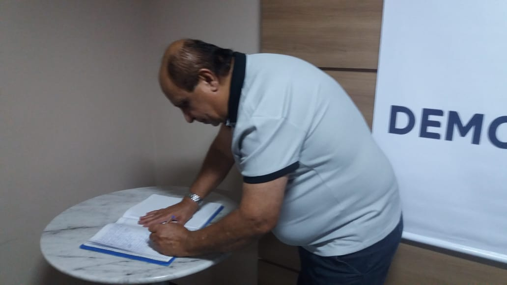 """Eu não sou pré-candidato, eu sou Belo Jardim"""", afirmou Marcos Coca-Cola ao voltar a presidência do DEM"""