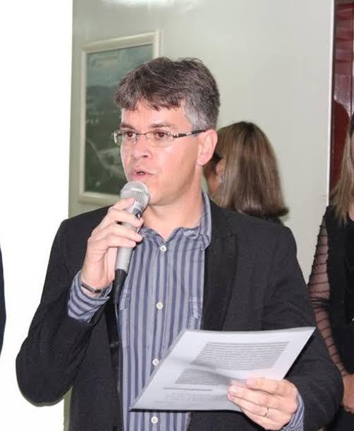 Adriano Cândido, secretário de Educação. Foto: Reprodução/Internet