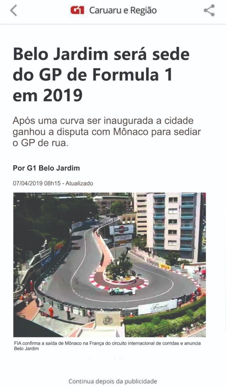 Inauguração de curva vira meme em Belo Jardim