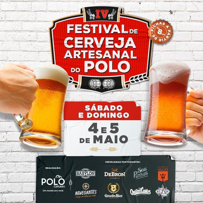 Polo Caruaru realiza IV festival de cerveja artesanal