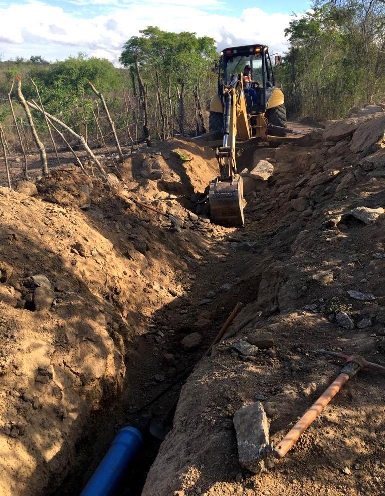 Comunidades da zona rural de São Caetano recebem obra de abastecimento de água