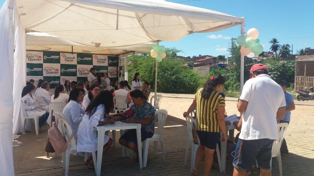 Ação social organizada por igreja evangélica oferece serviços gratuitos em BJ