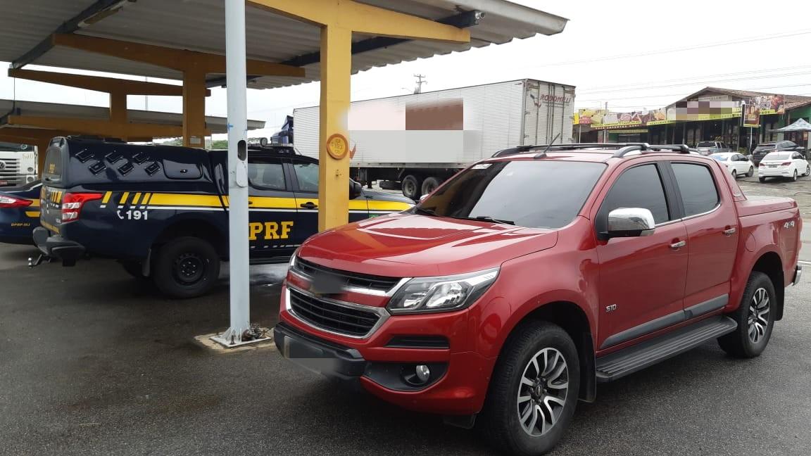 Homem é detido com caminhonete roubada  nesta terça-feira (21/05) em São Caetano