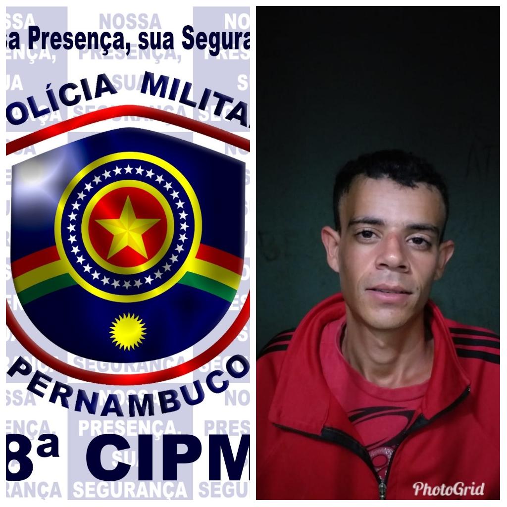 Homem é preso em Pesqueira após ameaçar e roubar a ex-mulher