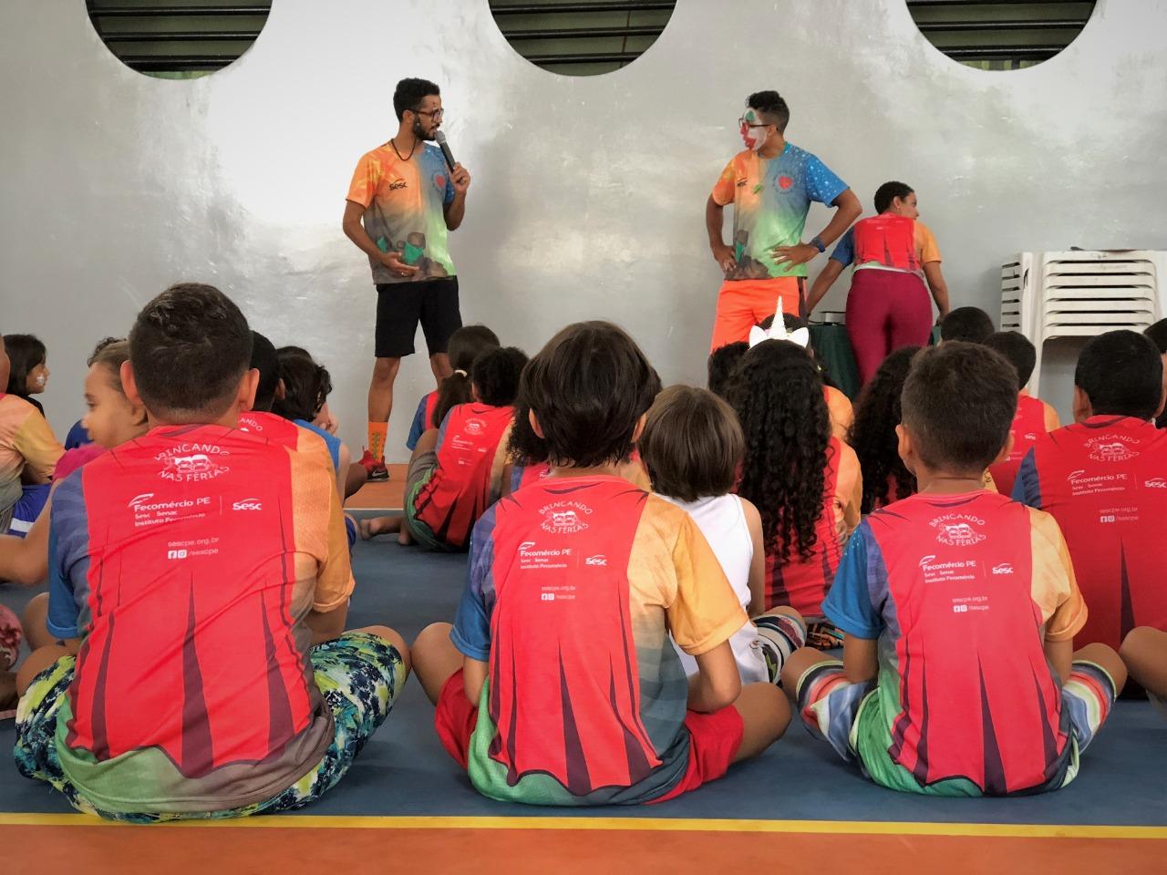 Sesc abre inscrições para projeto Brincando nas Férias em Belo Jardim