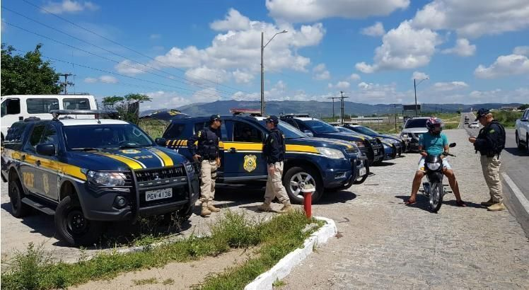 Operação São João da PRF em Pernambuco tem início nesta quarta