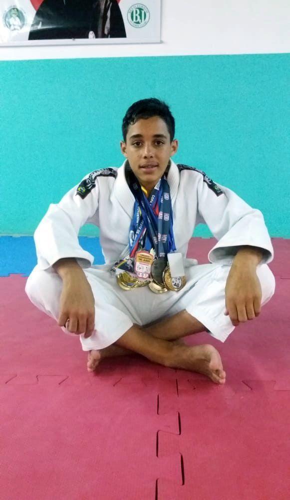 Judoca de 15 anos é promessa do esporte em Belo Jardim