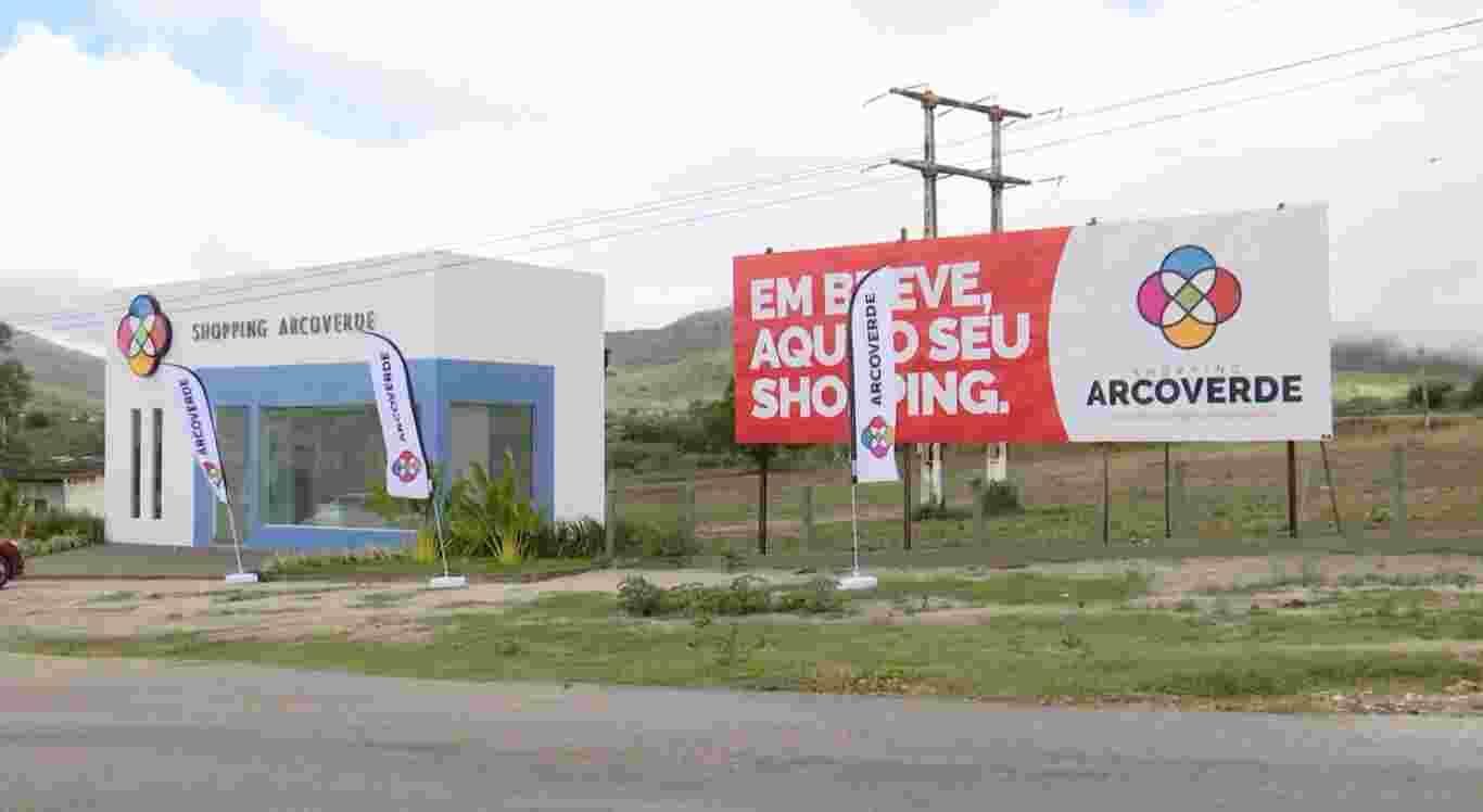 Shopping de Arcoverde terá 126 operações e cinco lojas âncoras