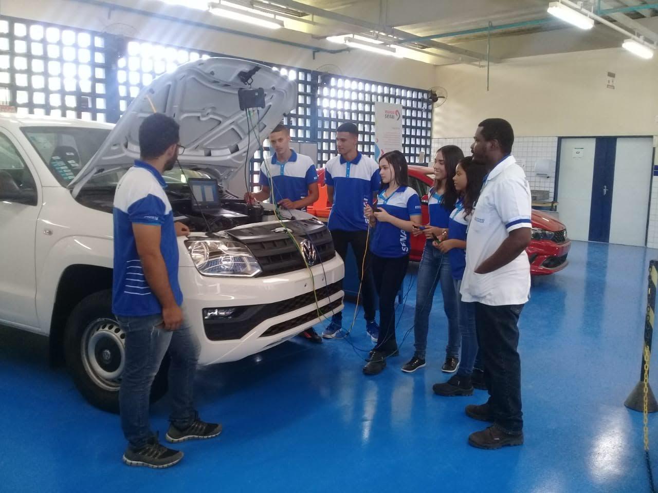 SENAI abre novas turmas para cursos na área mecânica e elétrica no Agreste