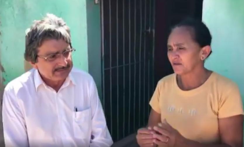 Atendendo solicitação dos moradores, vereador denuncia situação de abandono no Maria Cristina