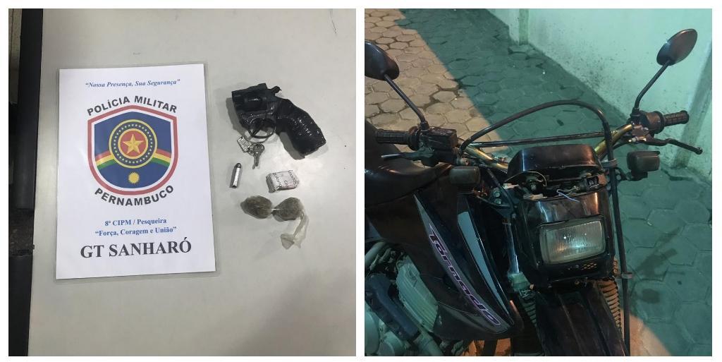 Adolescente é apreendido após tentar furtar moto de PM em Pesqueira