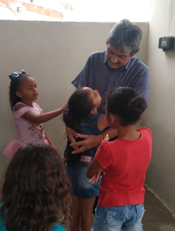 Vereador visita projeto social na Cohab III, em Belo Jardim